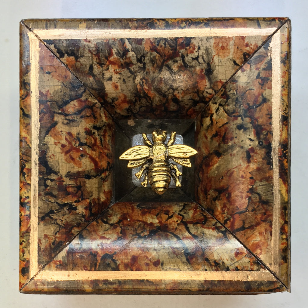 Painted Frame with Napoleonic Bee (3