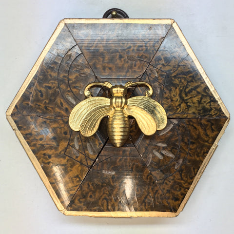 Marbled Frame with Bee (4.25