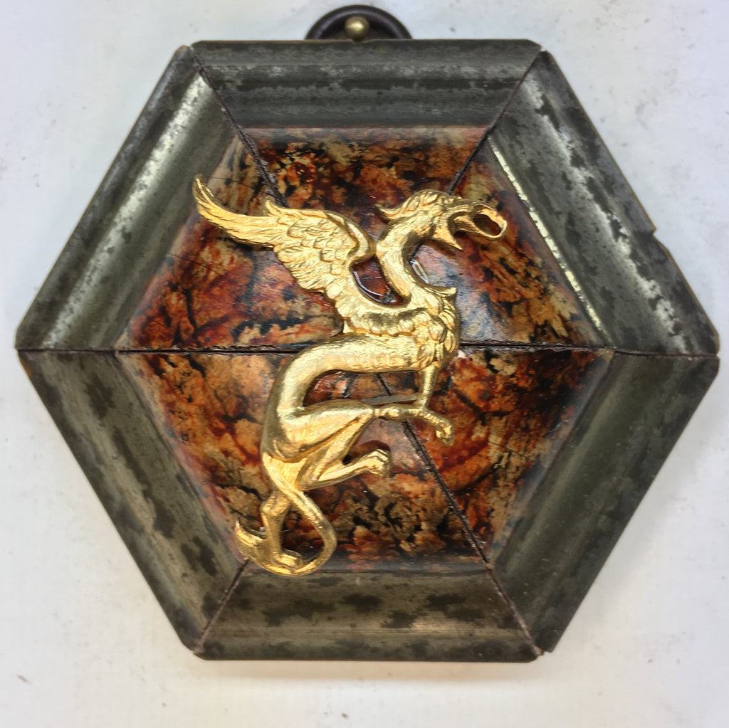 Painted Frame with Dragon (3.25