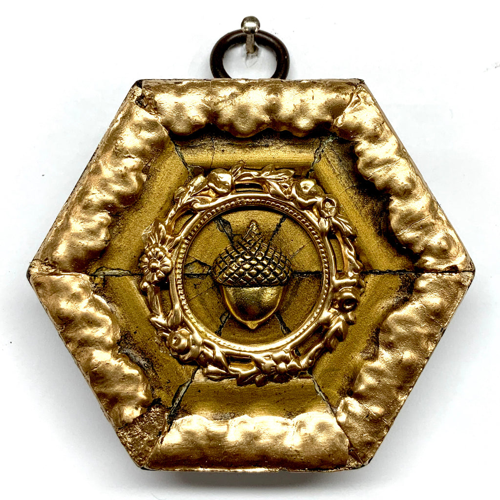 Gilt Frame with Acorn (3