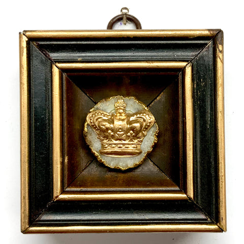 Lacquered Frame with Crown on Quartz (3