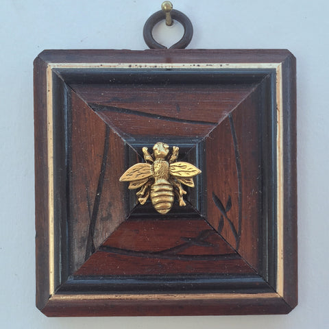 Carved Burled Frame with Napoleonic Bee (3