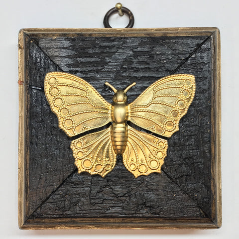Large Bourbon Barrel Frame with Butterfly (3.75-4.25