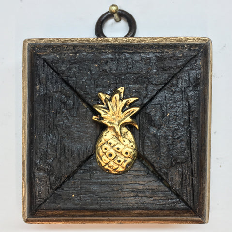 Bourbon Barrel Frame with Pineapple (3