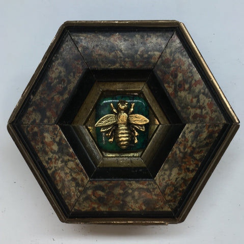 Marbled Frame with Napoleonic Bee (3.5