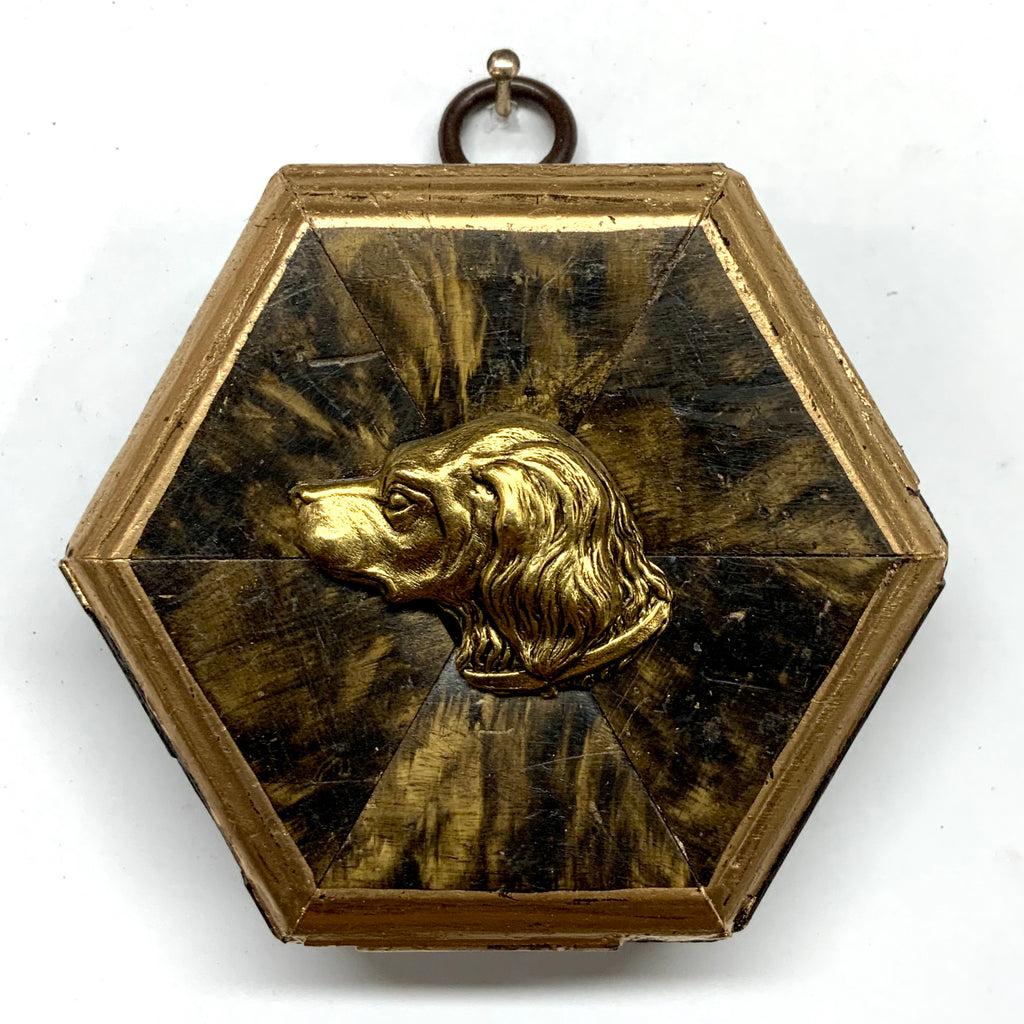 Gilt Frame with Handsome Dog (3.25