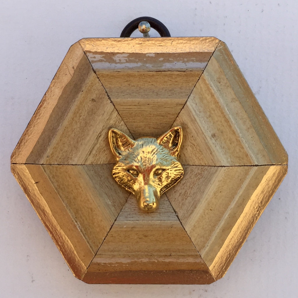Sand Colored Frame with Fox