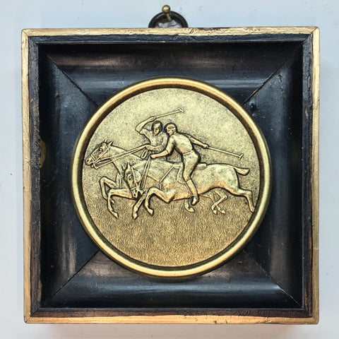 Wooden Frame with Polo Coin (4