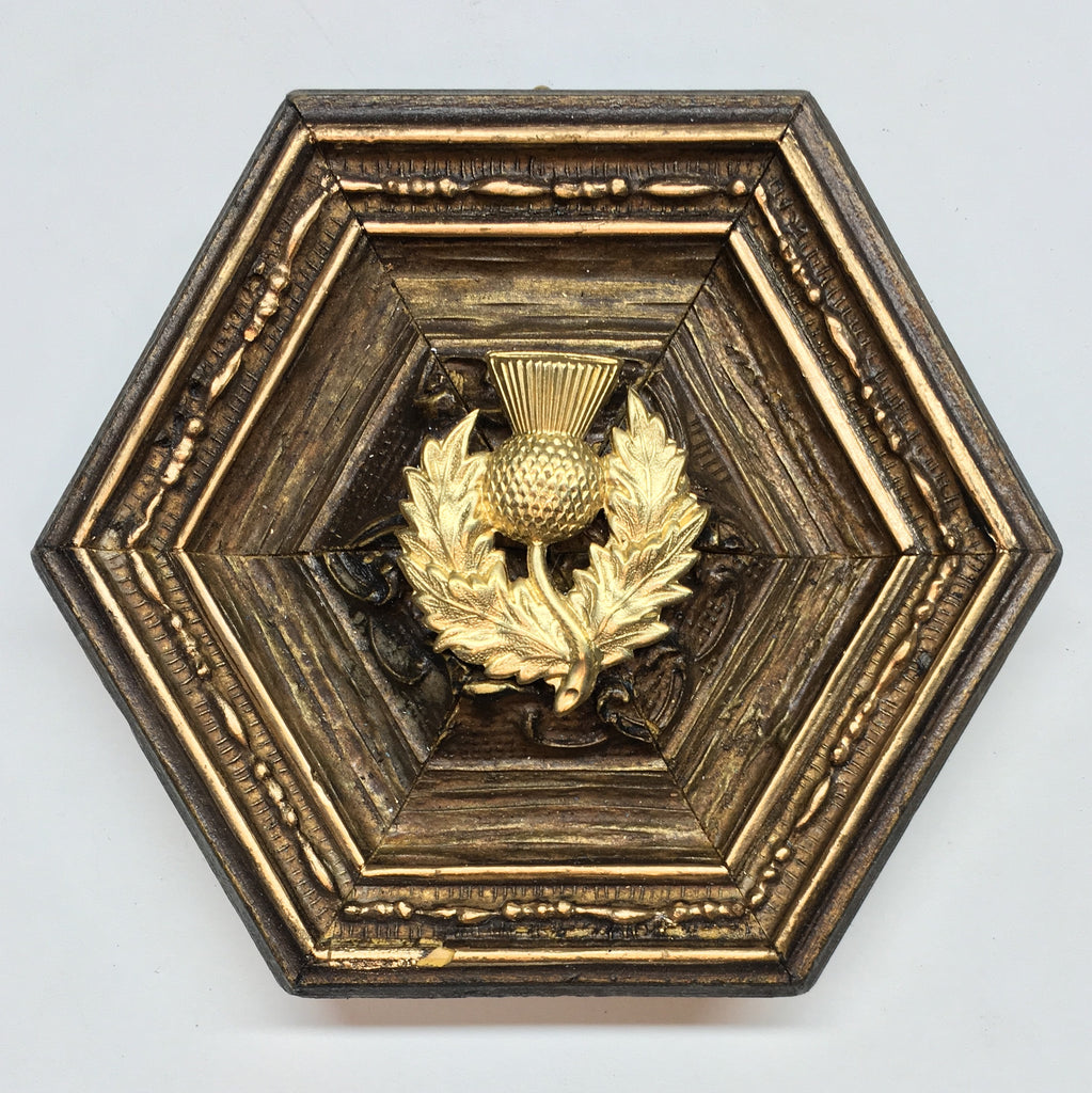 Gilt Frame with Thistle (4.5