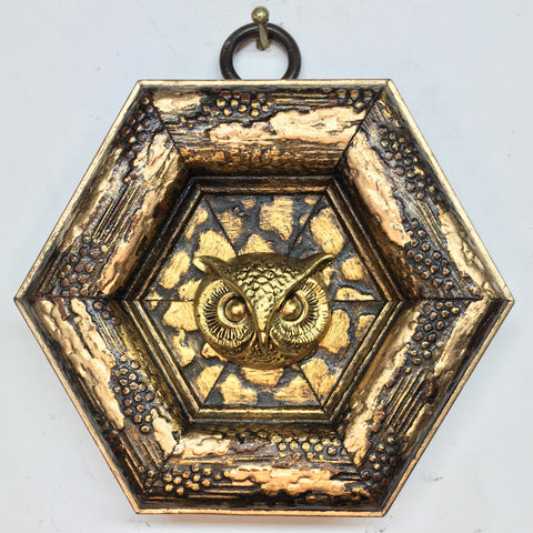 Gilt Frame with Owl (3.25