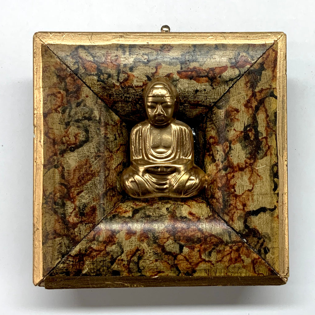 Marbled Frame with Buddha (3.25