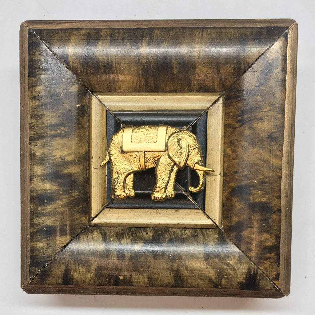 Marbled Frame with Elephant (4