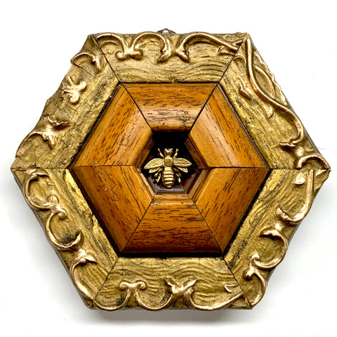 Gilt Frame with Napoleonic Bee (5.5