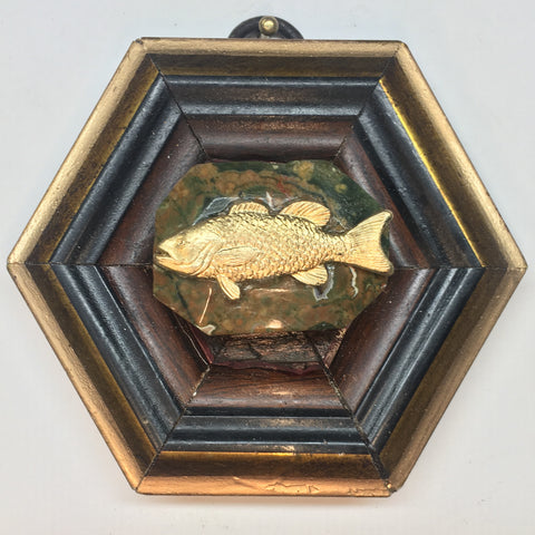 Wooden Frame with Fish (3.25