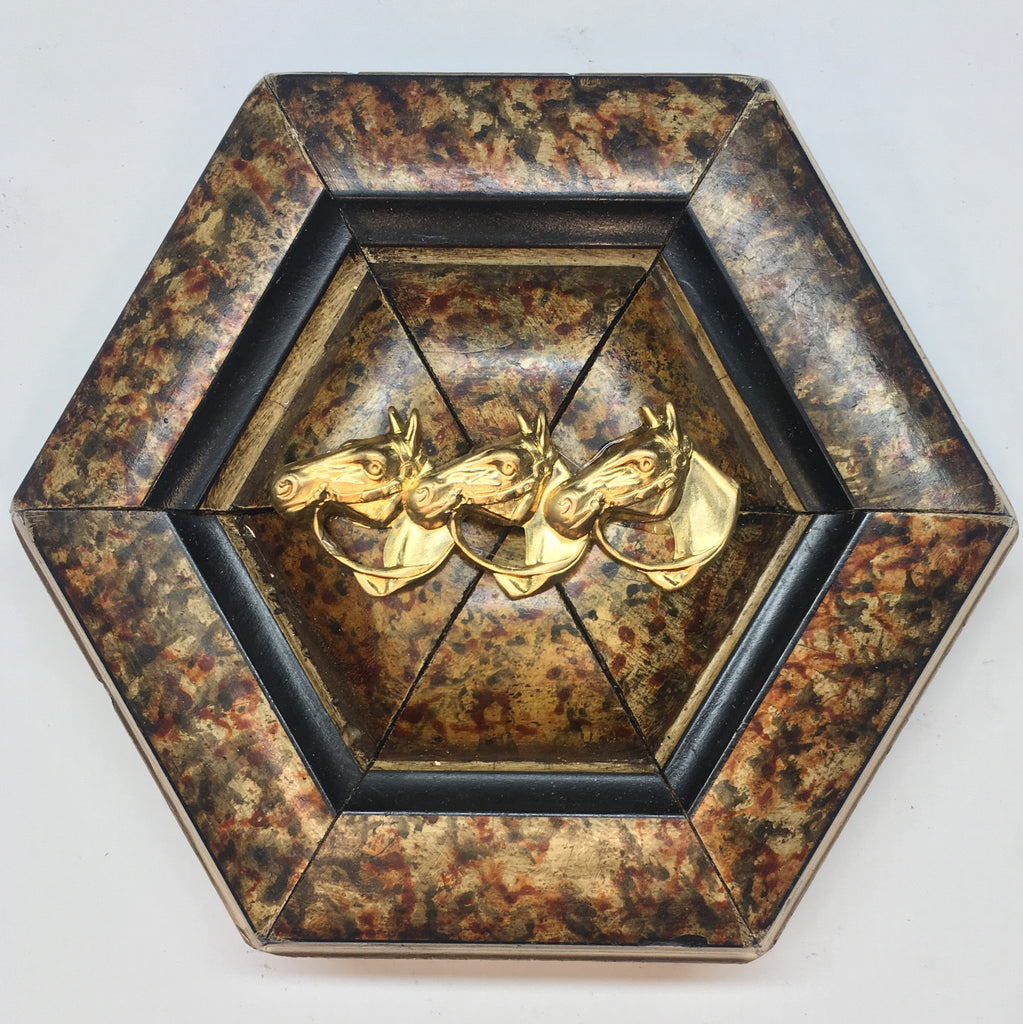 Marbled Frame with Horses (4.5