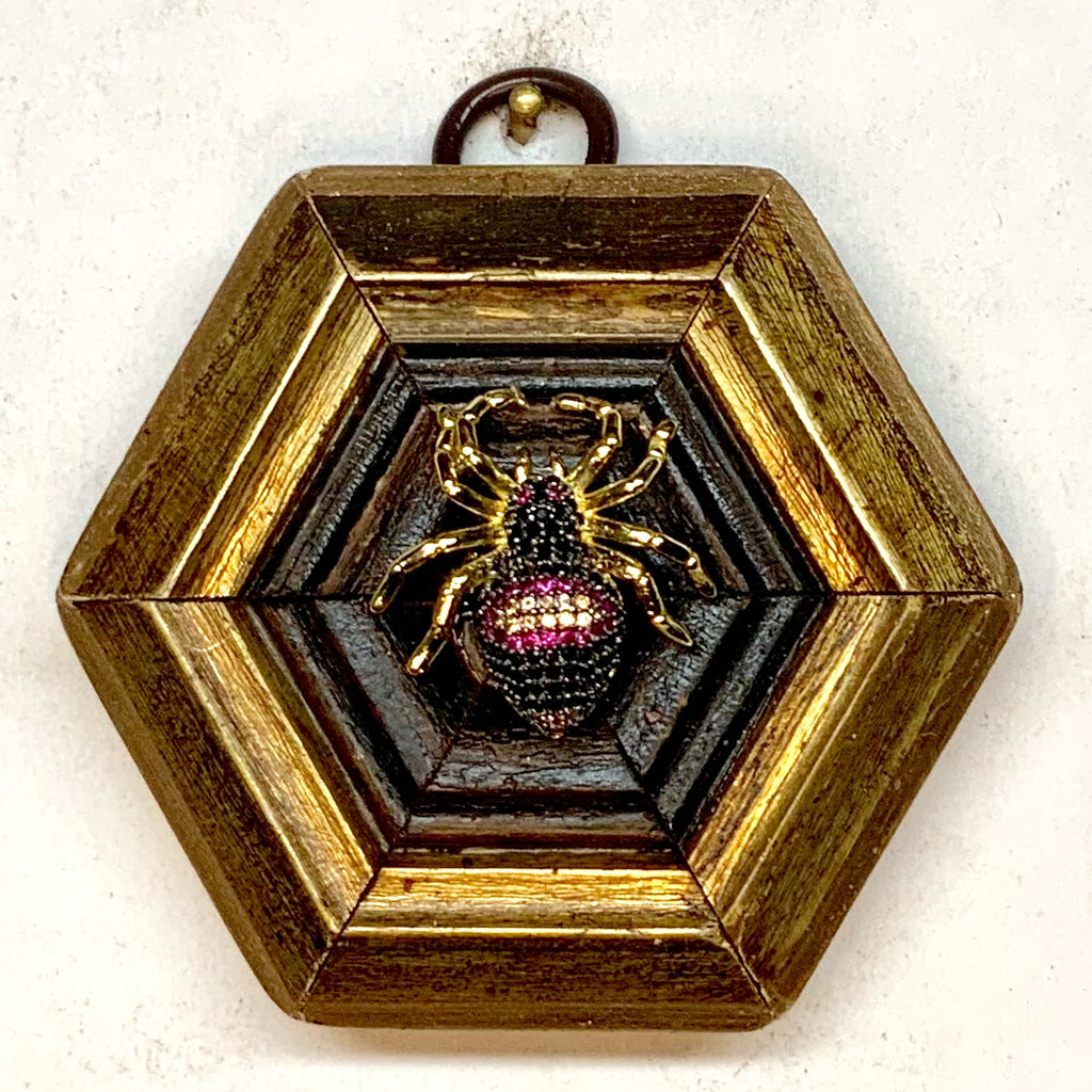 Gilt Frame with Spider (3