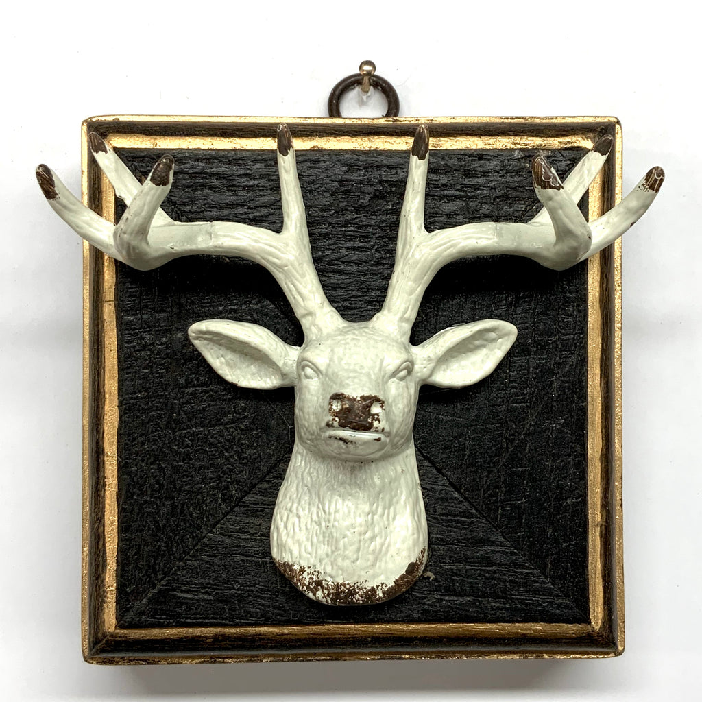 Bourbon Barrel Frame with Stag (3.75