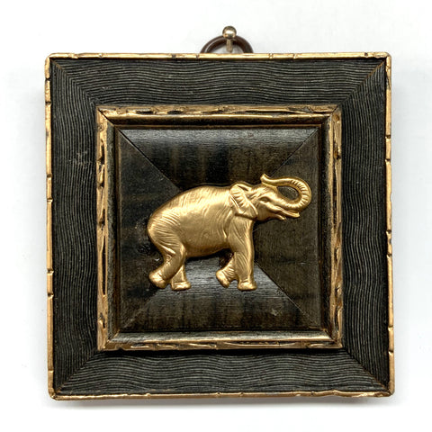 Painted Frame with Elephant (3.25