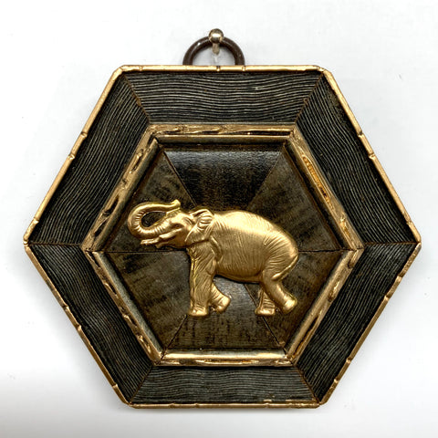 Painted Frame with Elephant (3.5