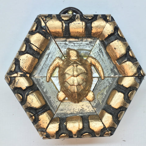 Gilt Frame with Turtle (2.75