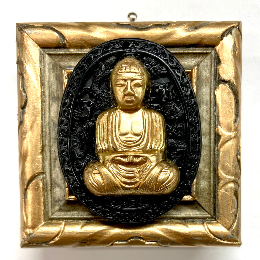 Painted Frame with Buddha on Jade (3