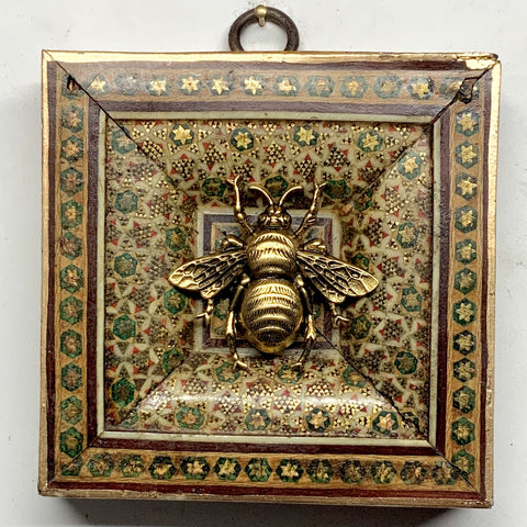Micro Mosaic Frame with Grande Bee (3.5