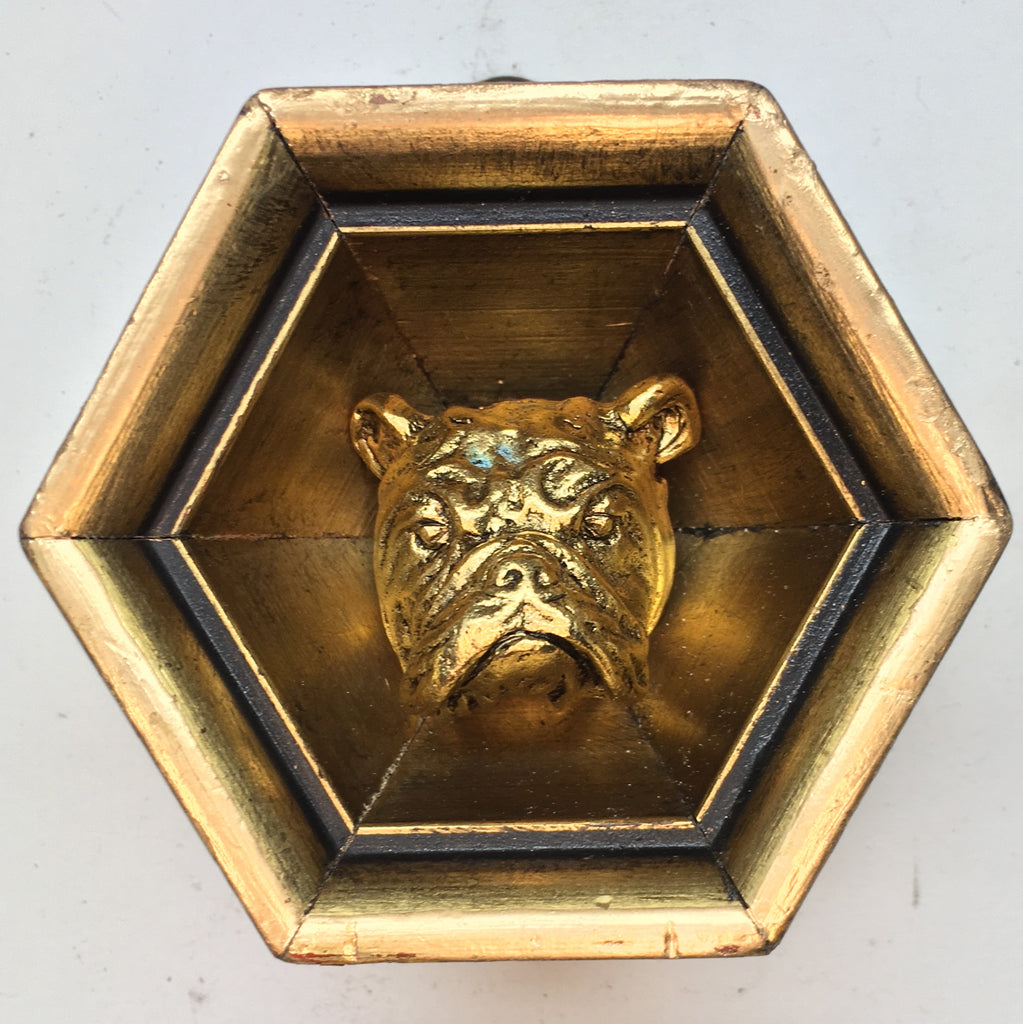 Gilt Frame with Bulldog (3