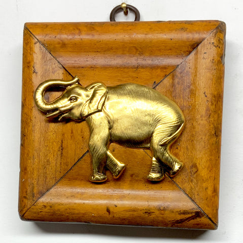 Wooden Frame with Elephant (3.5