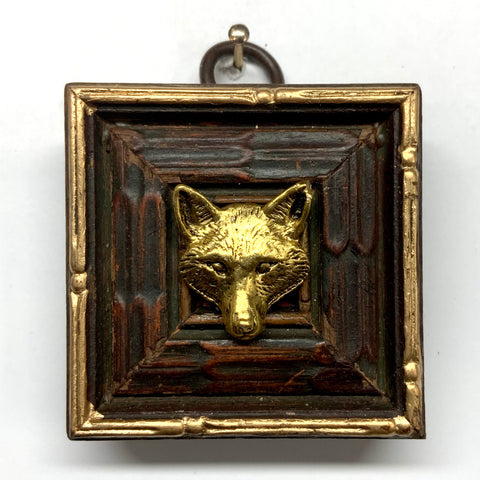 Wooden Frame with Fox (2