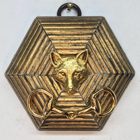 Gilt Frame with Fox (3