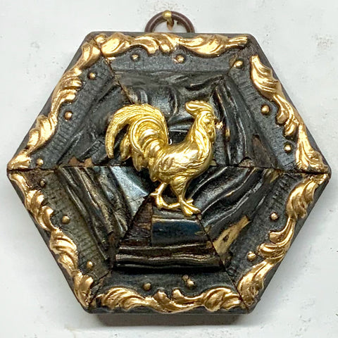 Gilt Frame with Rooster (3.75