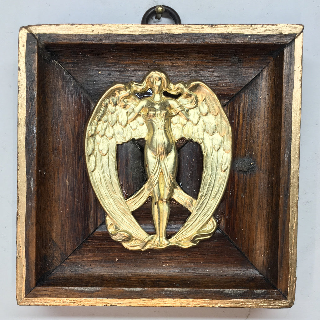 Wooden Frame with Angel (3.75