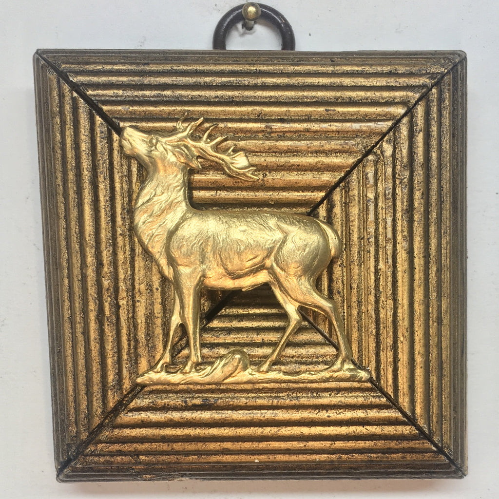 Gilt Frame with Stag (3