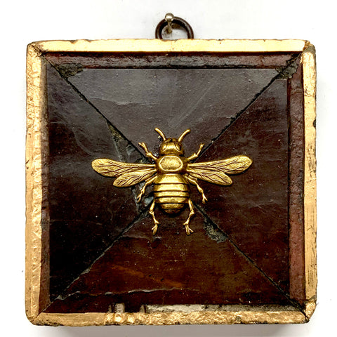 Wooden Frame with Italian Bee (3.75