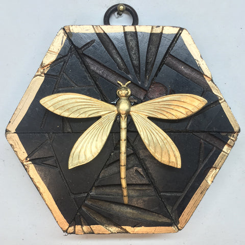 Coromandel Frame with Dragonfly (3.75