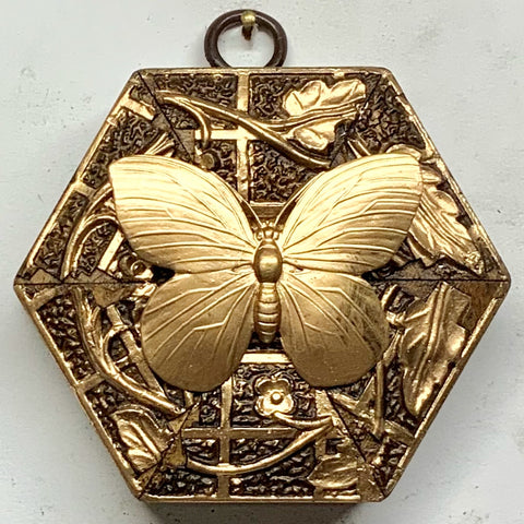 Gilt Frame with Butterfly (3.25