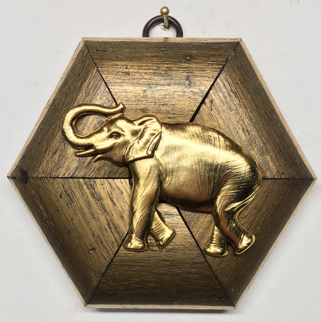 Gilt Frame with Elephant (4.5