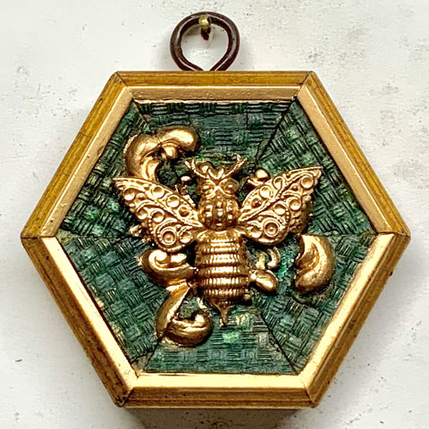 Painted Frame with Victorian Bee (3