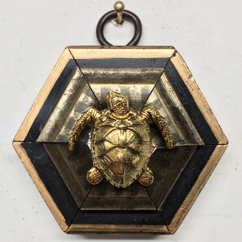 Gilt Frame with Turtle (2.5