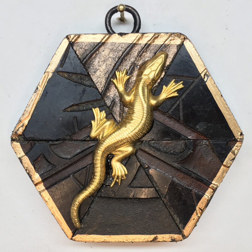 Coromandel Frame with Lizard (3.75