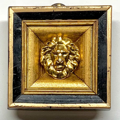 Lacquered Frame with Lion (2.5