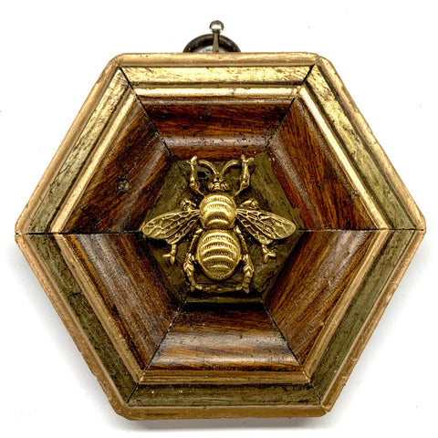 Gilt Frame with Grande Bee (3.5