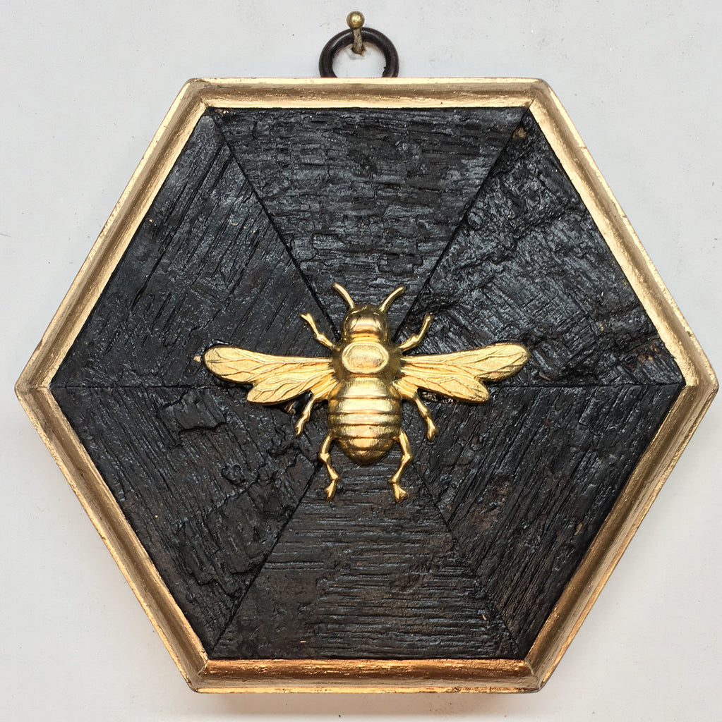 Bourbon Barrel Frame with Italian Bee (4.75