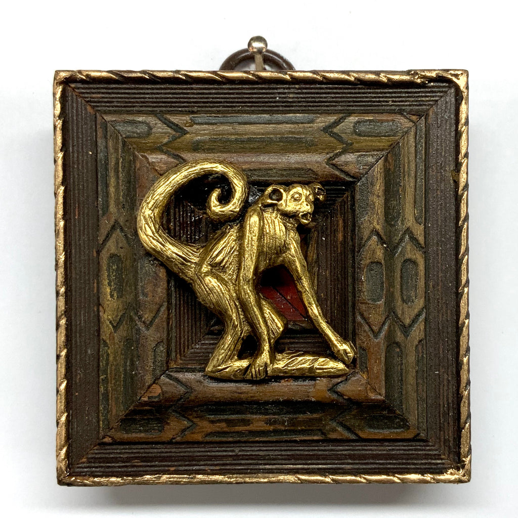 Wooden Frame with Monkey (2.5