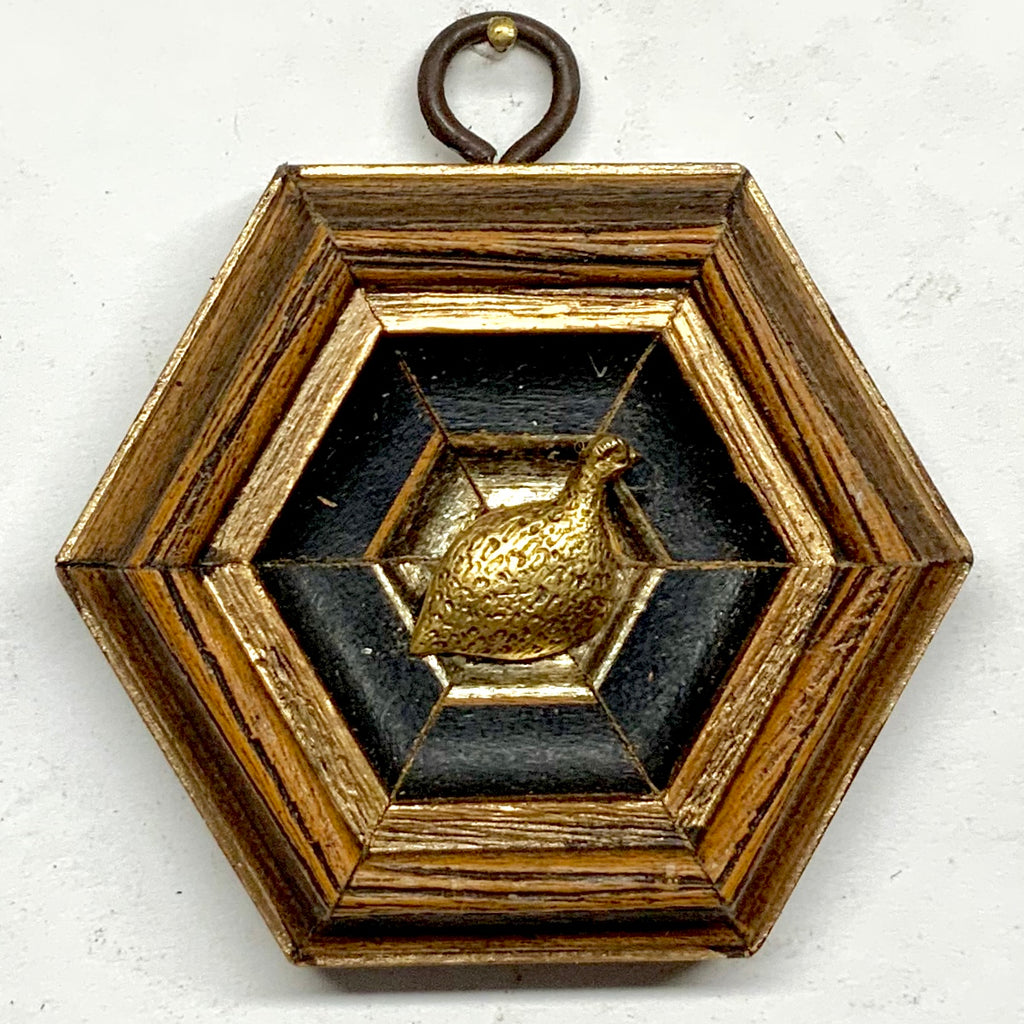 Gilt Frame with Quail (3.25