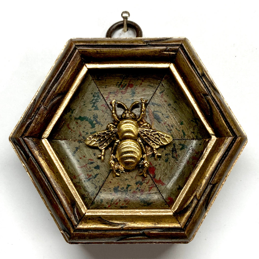 Painted Frame with Grande Bee (3.25