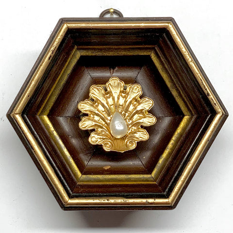 Wooden Frame with Shell (4.5