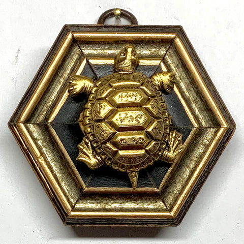 Gilt Frame with Turtle (3.25
