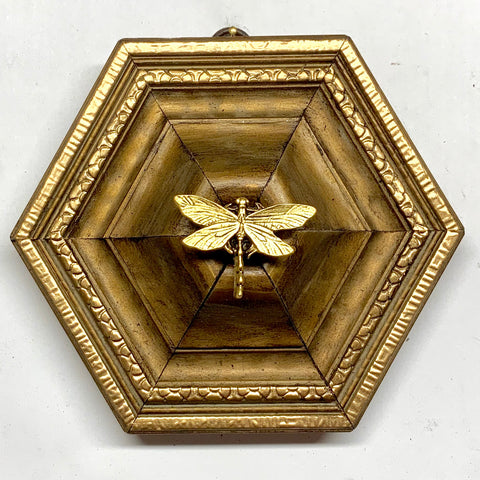Gilt Frame with Dragonfly (5.5