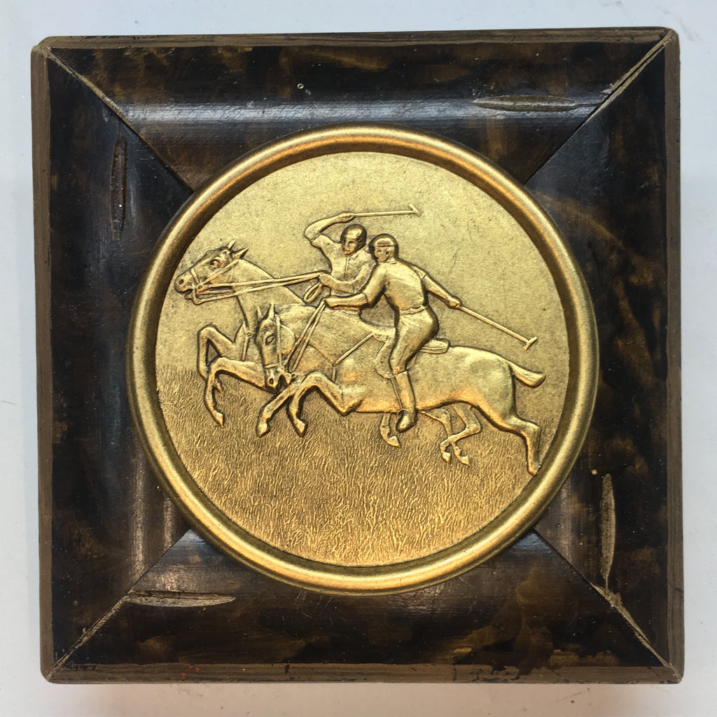 Painted Frame with Polo Coin (4